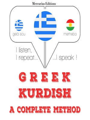 cover image of Greek-Kurdish: a complete method