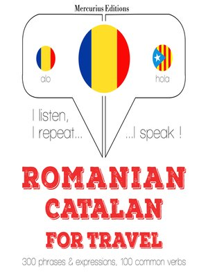 cover image of Romanian-Catalan: For travel