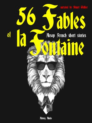 cover image of 56 Fables by La Fontaine