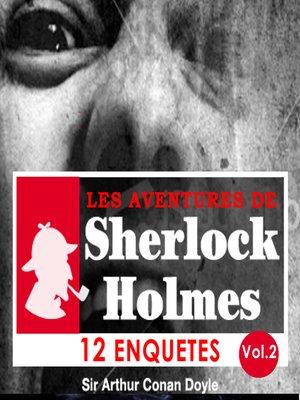 cover image of 12 enquêtes de Sherlock Holmes