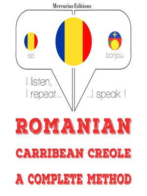 cover image of Romanian-Carribean Creole: a complete method