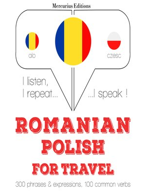 cover image of Romanian-Polish: For travel