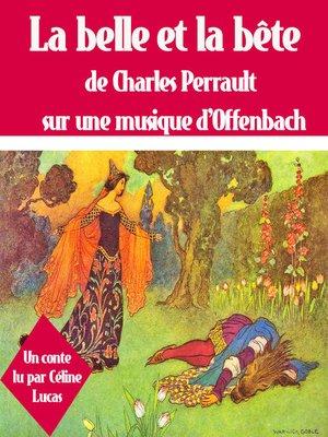 cover image of La belle et la bête