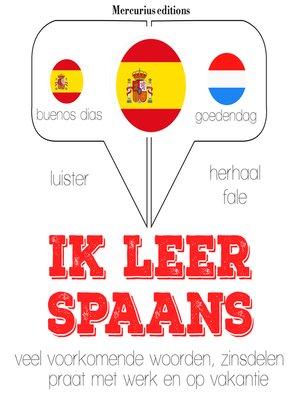cover image of Ik leer Spaans