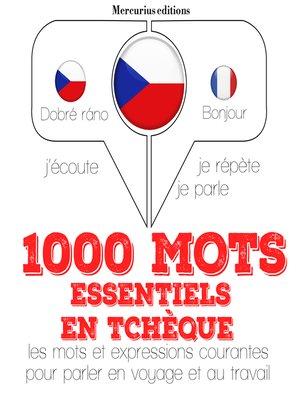 cover image of 1000 mots essentiels en tchèque