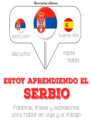 cover image of Estoy aprendiendo el croatoserbio