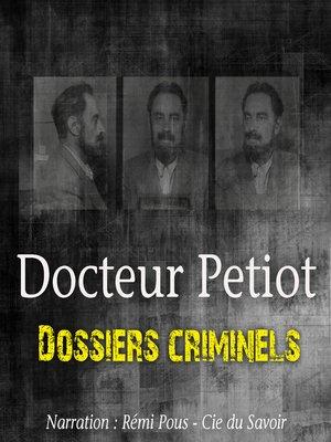 cover image of L'Etrange Docteur Petiot