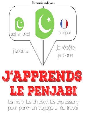 cover image of J'apprends le penjabi