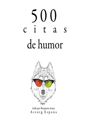 cover image of 500 citas de humor