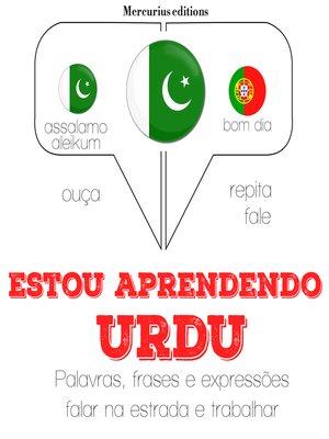 cover image of Estou aprendendo urdu