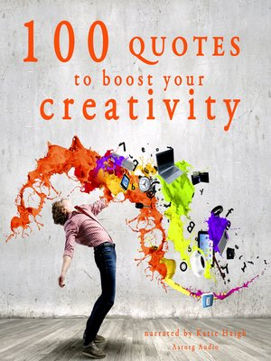 cover image of 100 Quotes to Boost Your Creativity