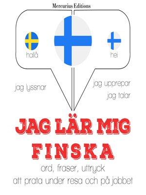 cover image of Jag lär mig finska