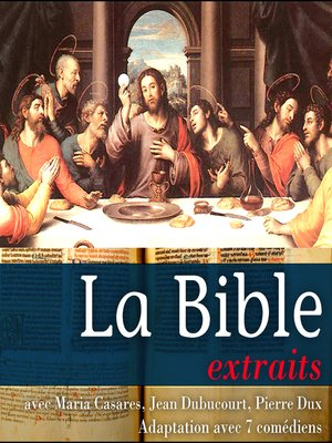 cover image of La Bible