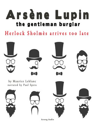 cover image of Sherlock Holmes Arrives Too Late