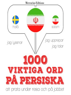 cover image of 1000 viktiga ord på persiska