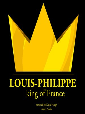 cover image of Louis-Philippe, King of France