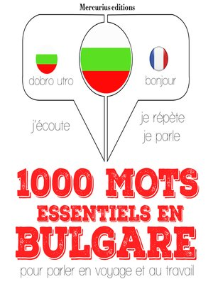 cover image of 1000 mots essentiels en bulgare