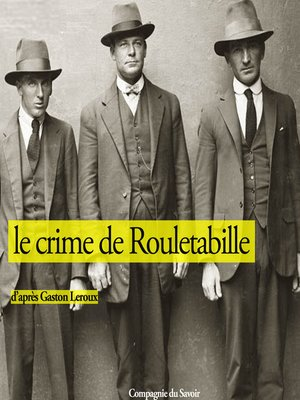 cover image of Le crime de Rouletabille