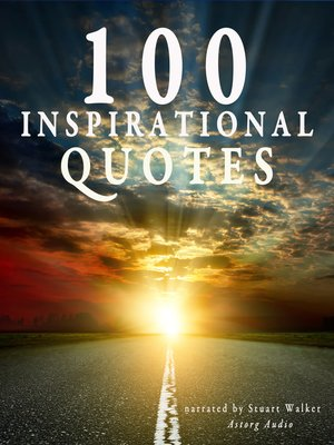 cover image of 100 Inspirational Quotes