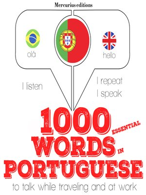 cover image of 1000 Essential Words in Portuguese