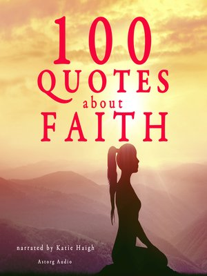 cover image of 100 Quotes about Faith
