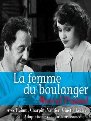 cover image of La femme du boulanger