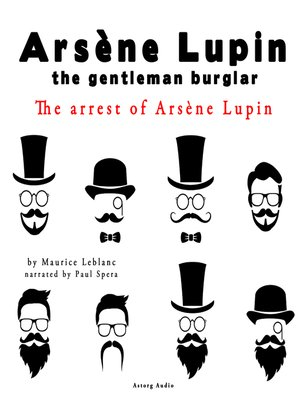 cover image of The Arrest of Arsene Lupin
