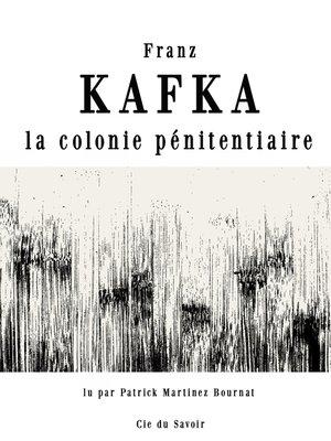 cover image of La colonie pénitentiaire