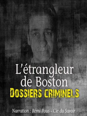 cover image of L'Etrangleur de Boston