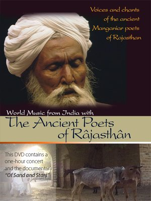cover image of World Music from India with the Ancient Poets of Râjasthân