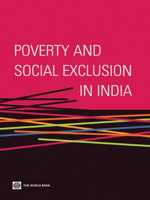 cover image of Poverty and Social Exclusion in India