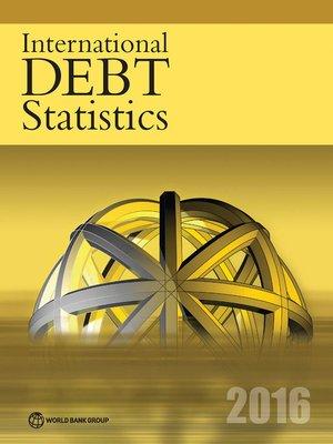 cover image of International Debt Statistics 2016