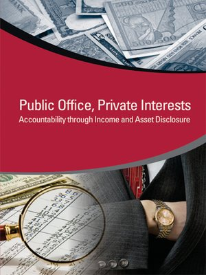 cover image of Public Office, Private Interests