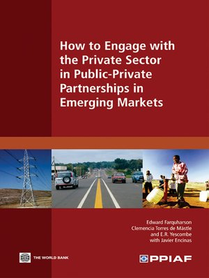 cover image of How to Engage with the Private Sector in Public-Private Partnerships in Emerging Markets