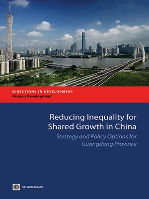 cover image of Reducing Inequality for Shared Growth in China