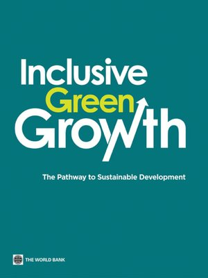 cover image of Inclusive Green Growth