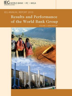 cover image of Results and Performance of the World Bank Group: IEG Annual Report 2010