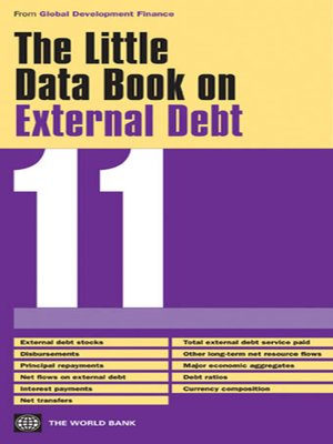 cover image of The Little Data Book on External Debt 2011
