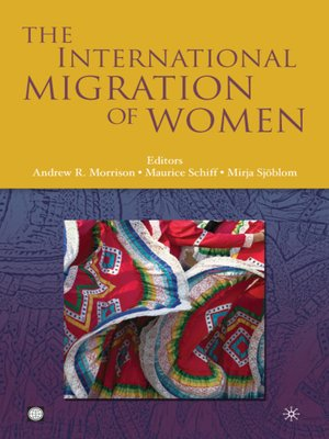 cover image of The International Migration of Women