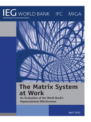 cover image of The Matrix System at Work