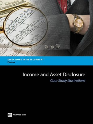 cover image of Income and Asset Disclosure
