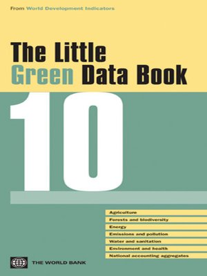 cover image of The Little Green Data Book 2010