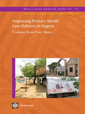 cover image of Improving Primary Health Care Delivery in Nigeria