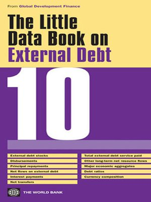 cover image of The Little Data Book on External Debt 2010