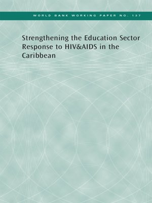 cover image of Strengthening the Education Sector Response to HIV and AIDS in the Caribbean