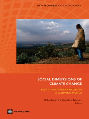 cover image of The Social Dimensions of Climate Change
