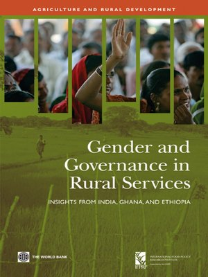 cover image of Gender and Governance in Rural Services
