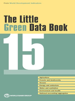 cover image of The Little Green Data Book 2015