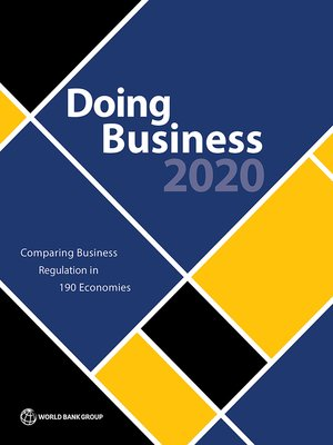 cover image of Doing Business 2020