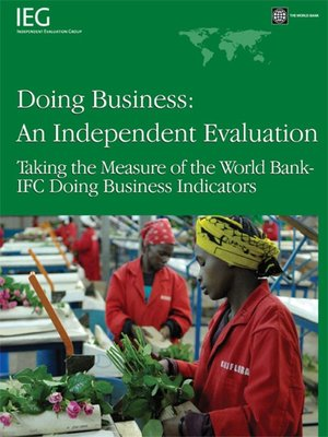 cover image of Doing Business — an Independent Evaluation